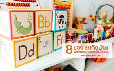 8  ของเล่นติดบ้าน เพื่อเสริมพัฒนาการเด็กออทิสติกอายุ 2-5 ขวบ | บ้านอุ่นรัก