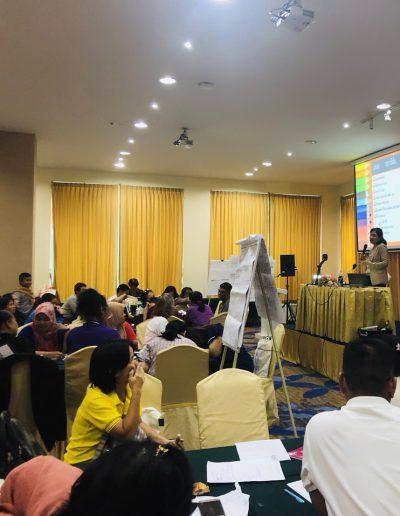 การบรรยายเรื่อง การปรับพฤติกรรม ให้กับเครือข่ายผู้ปกครอง มูลนิธิ ออทิสติกไทยทั่วประเทศ